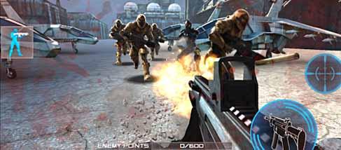 دانلود بازی تهاجم دشمن Enemy Strike اندروید با پول بی نهایت