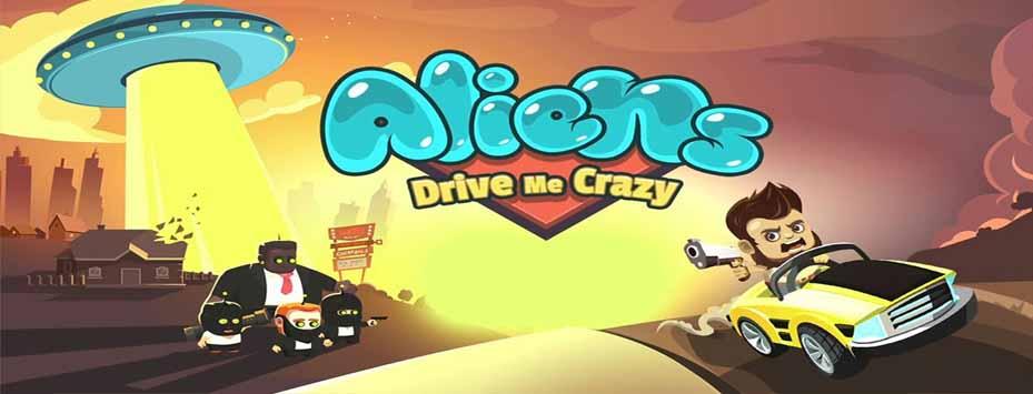 دانلود بازی Alien Drive Me Crazy اندروید با پول بی نهایت