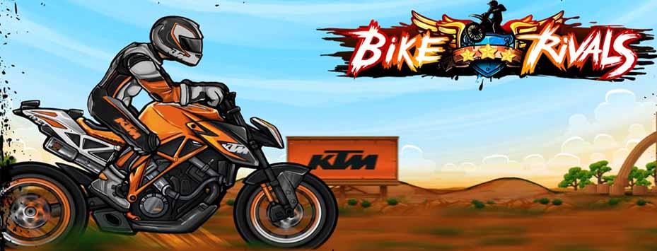 دانلود نسخه مود شده بازی Bike Rivals با پول بی نهایت