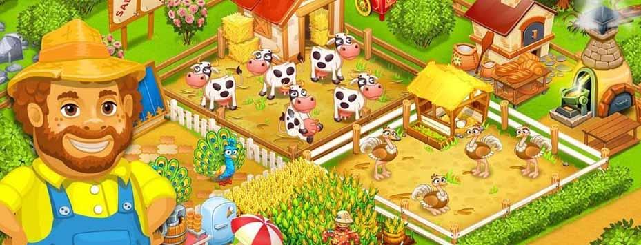 دانلود بازی Farm Town اندروید با پول بی نهایت