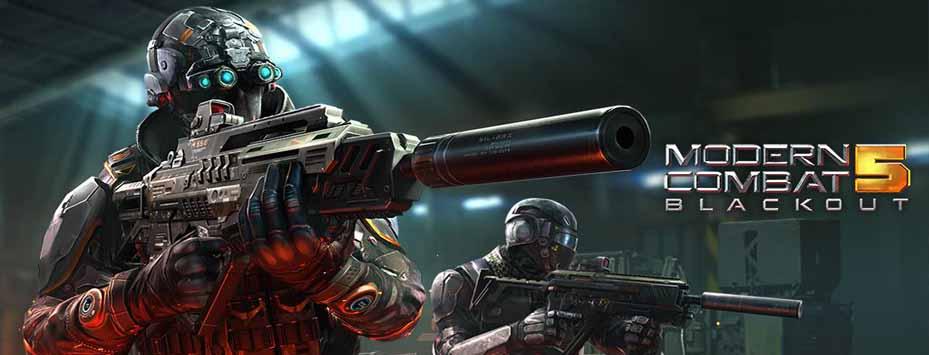 دانلود بازی Modern Combat 5 اندروید با پول بینهایت