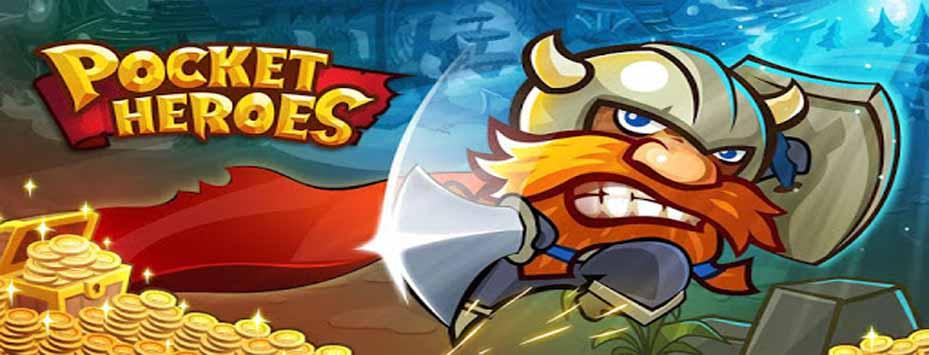 دانلود بازی Pocket Heroes اندروید با پول بی نهایت