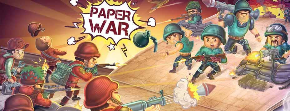 دانلود بازی جنگ کاغذی اندروید با پول بی نهایت