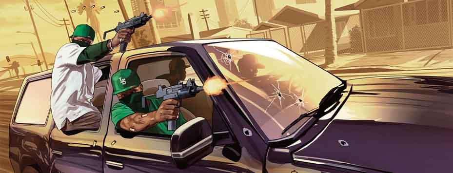 دانلود بازی دوبله شده Gta San Andreas برای اندروید