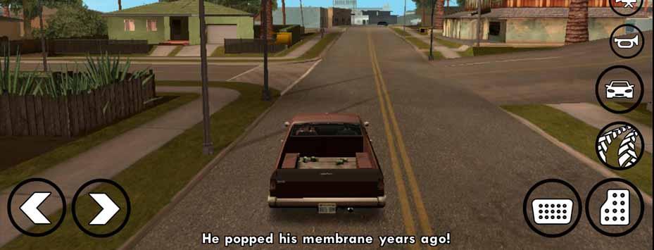 دانلود بازی Grand Theft Auto San Andreas اندروید با دوبله فارسی