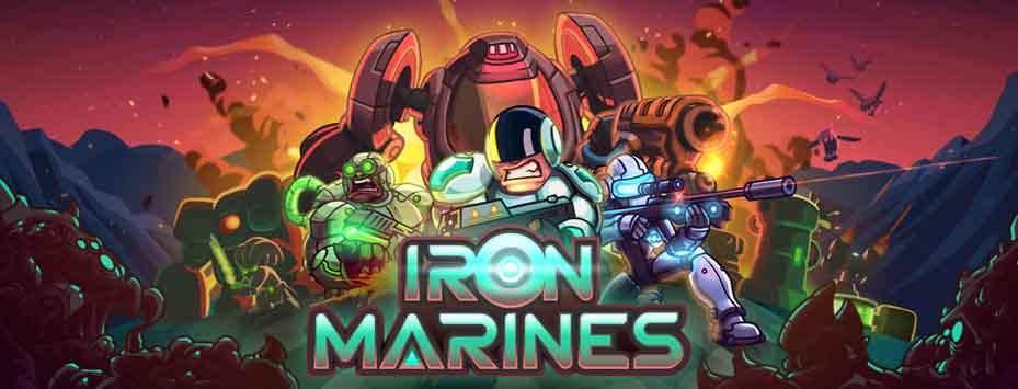 دانلود بازی Iron Marines با پول بی نهایت