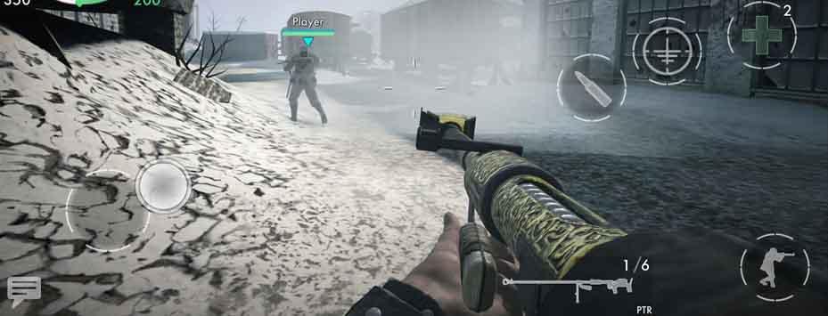 دانلود بازی World War Heroes: WW2 FPS اندروید با پول بی نهایت