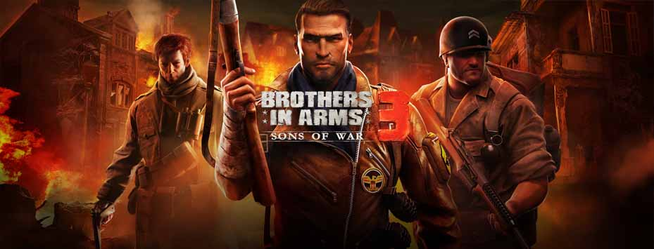 دانلود بازی 3 Brothers In Arms با پول بی نهایت