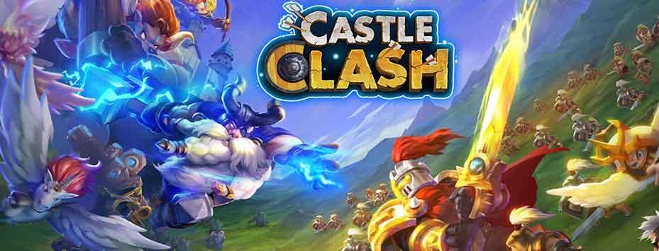 دانلود بازی Castle Clash اندروید با پول بی نهایت