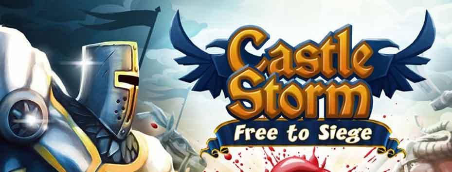 دانلود بازی دژبان CastleStorm اندروید با پول بی نهایت
