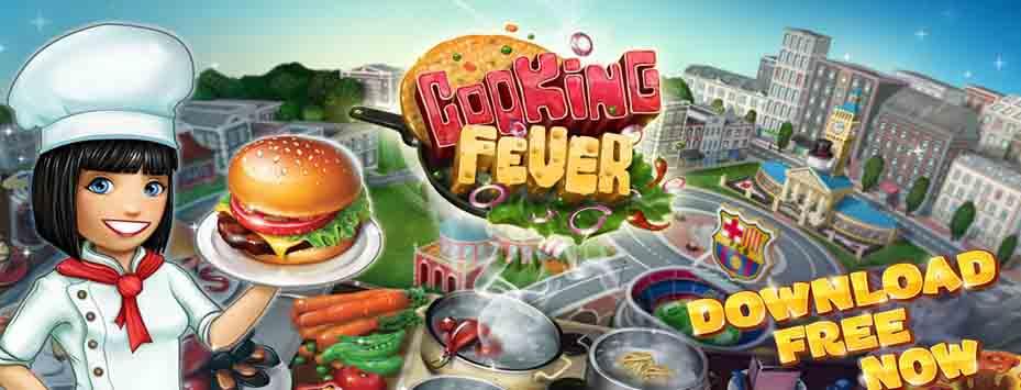 دانلود بازی Cooking Fever اندروید با پول بی نهایت