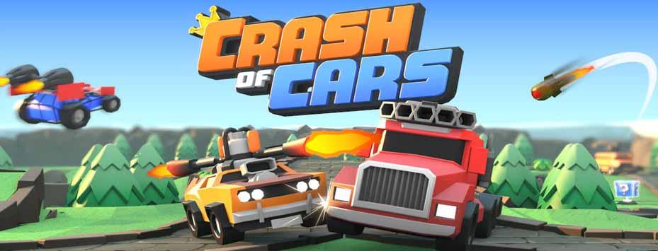 دانلود بازی Crash of Cars اندروید با پول بی نهایت