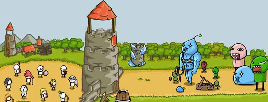 دانلود بازی Grow Castle اندروید با پول بی نهایت