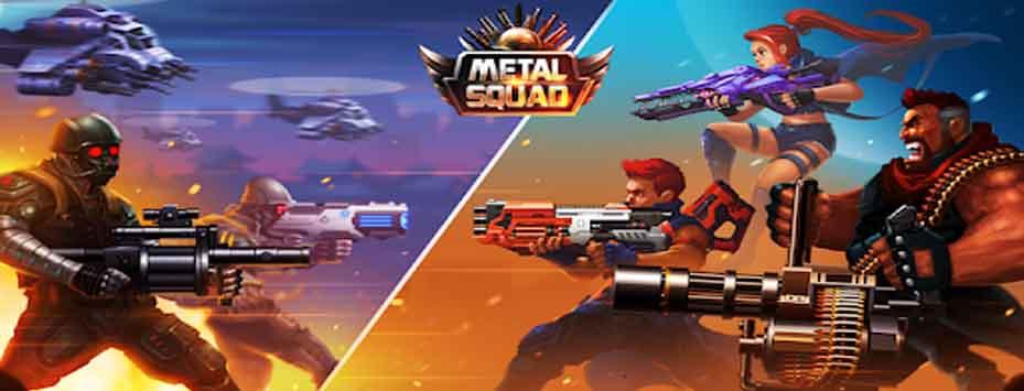 دانلود بازی Metal Squad اندروید با پول بی نهایت