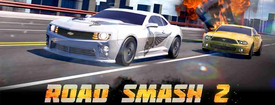 دانلود بازی Road Smash 2: Hot Pursuit اندروید با پول بینهایت