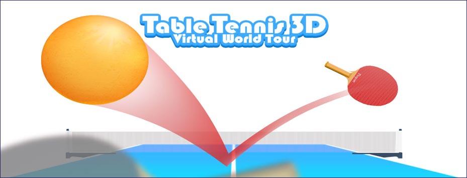 دانلود بازی Table tennis 3D اندروید با پول بی نهایت