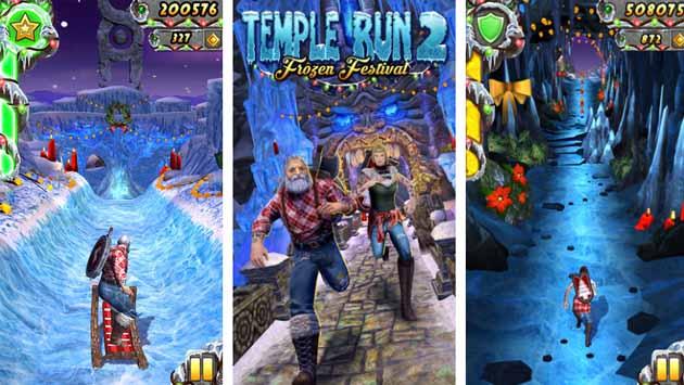 دانلود بازی تمپل ران Temple Run 2 اندروید با پول بی نهایت