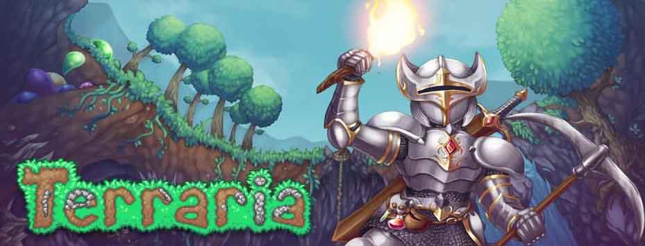 دانلود بازی Terraria اندروید با پول بی نهایت