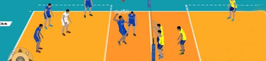 دانلود بازی والیبال مدرن اندروید Volleyball Modern با پول بی نهایت