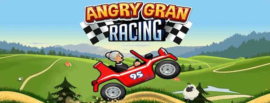 دانلود بازی Angry Gran Racing اندروید با پول بی نهایت